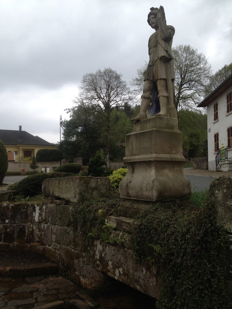 source miraculeuse de Saint Quirin